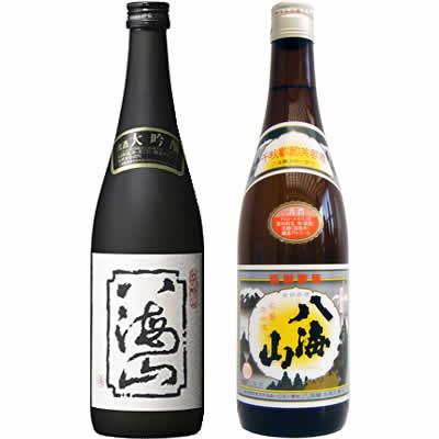 八海山 大吟醸 720ml 八海山 清酒 720ml 2本 日本酒飲み比べセット