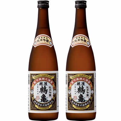 越後鶴亀 純米吟醸 720ml 2本 日本酒飲み比べセット