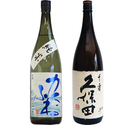 かたふね 純米 1800ml 久保田 千寿 1800ml 2本セット 日本酒飲み比べセット