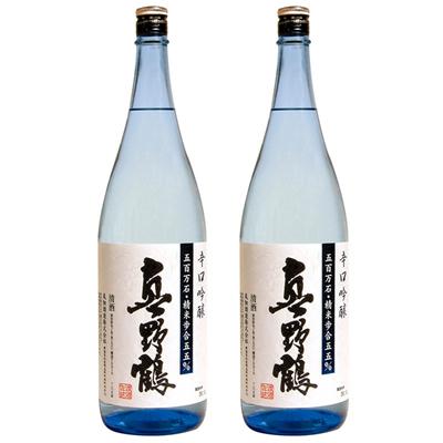 真野鶴 辛口吟醸 1800ml 2本セット 日本酒飲み比べセット