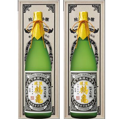 越後鶴亀 超特醸 1800ml 2本セット 日本酒飲み比べセット