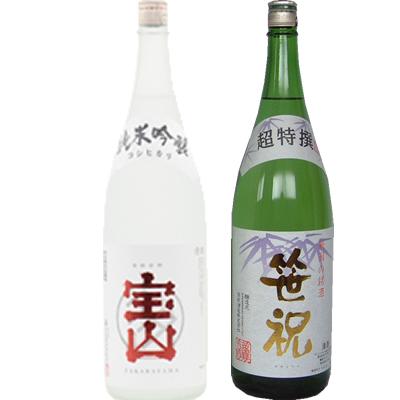 コシヒカリ純米吟醸 1800ml 笹祝 超特選 1800ml 2本セット 日本酒飲み比べセット