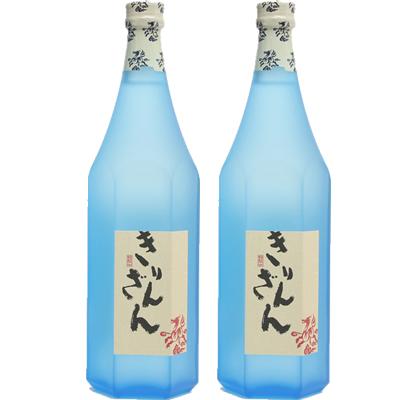 麒麟山 ブルーボトル 1800ml 2本セット 日本酒飲み比べセット