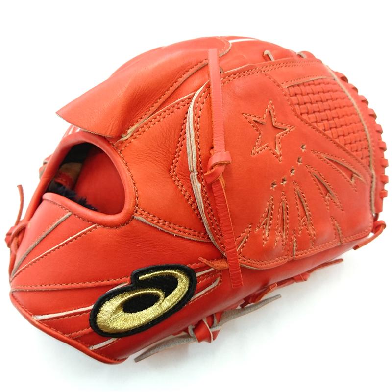 【asics】アシックス 野球館オリジナル 軟式グローブ ゴールドステージ 投手用右投げ オーダーグラブ asics-n9
