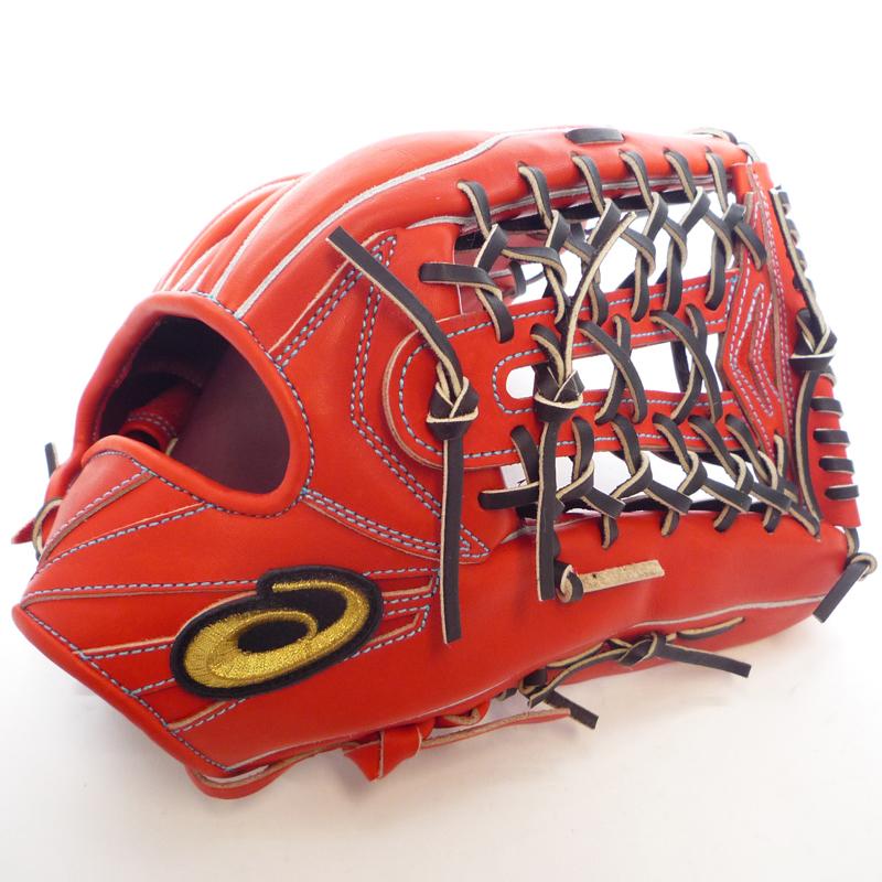 【asics】アシックス 野球館オリジナル 硬式グローブ ゴールドステージ 外野手用 オーダーグラブ asics-22