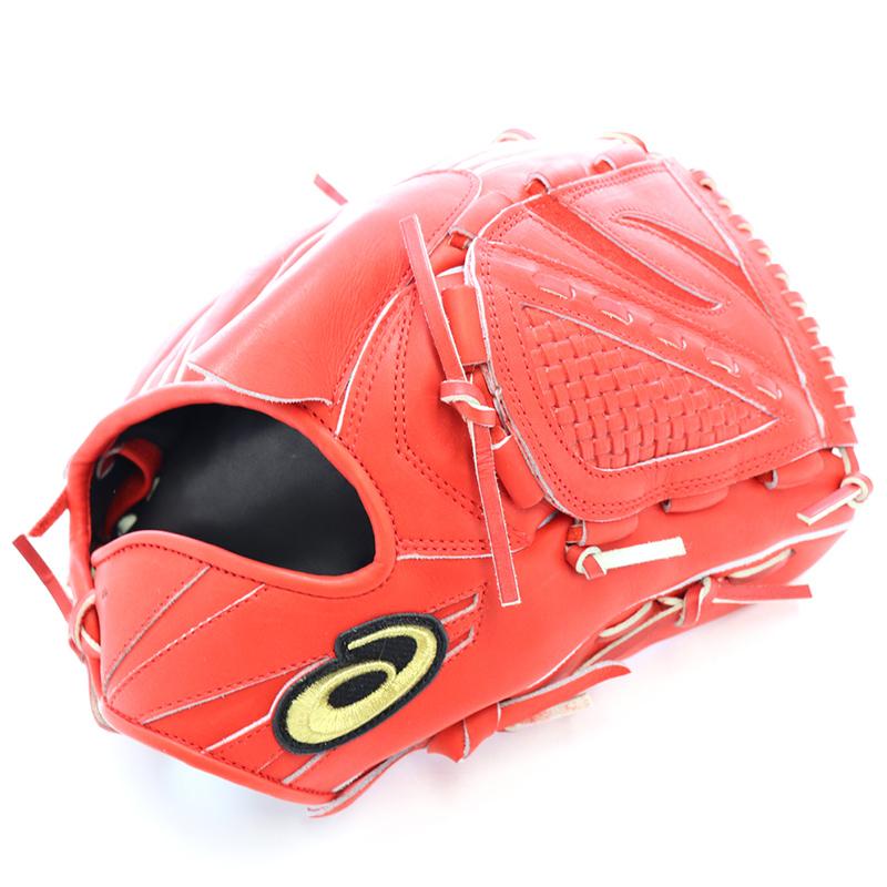 【asics】アシックス 野球館オリジナル 硬式グローブ ゴールドステージ投手用 オーダーグラブ asics-50