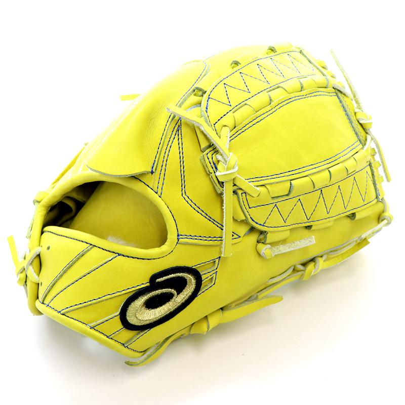 【asics】アシックス 野球館オリジナル 硬式グローブ ゴールドステージ投手用 オーダーグラブ asics-76