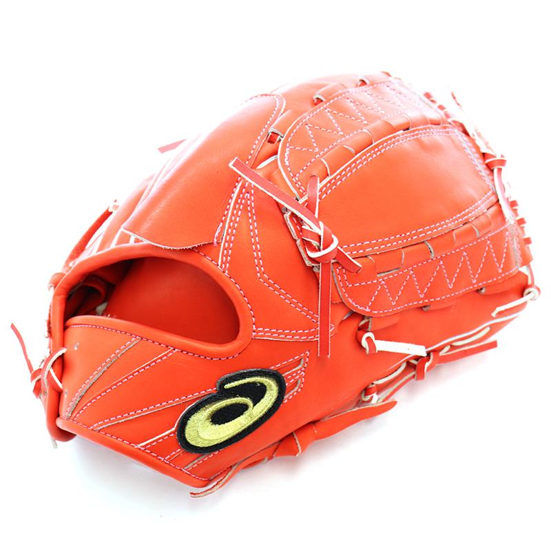 【asics】アシックス 野球館オリジナル 硬式グローブ ゴールドステージ投手用 オーダーグラブ asics-77