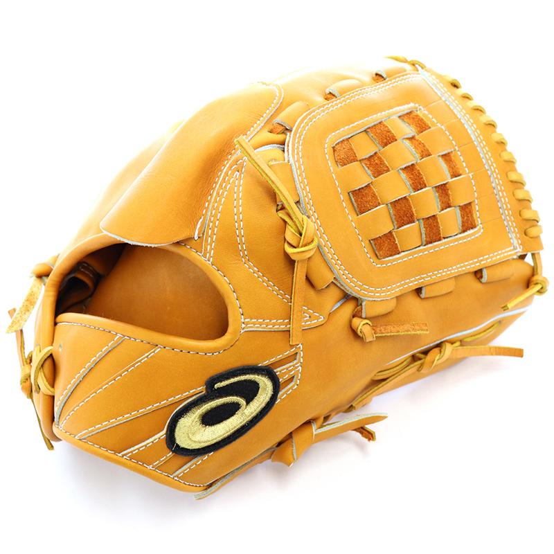 【asics】アシックス 野球館オリジナル 硬式グローブ ゴールドステージ投手用 オーダーグラブ asics-79