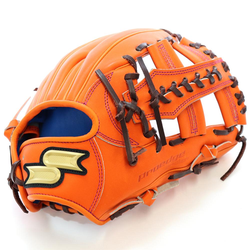 【SSK】エスエスケイ プロエッジ 野球館オリジナル 硬式グローブ T4モデル 内野手用 オーダーグラブ ssk-55