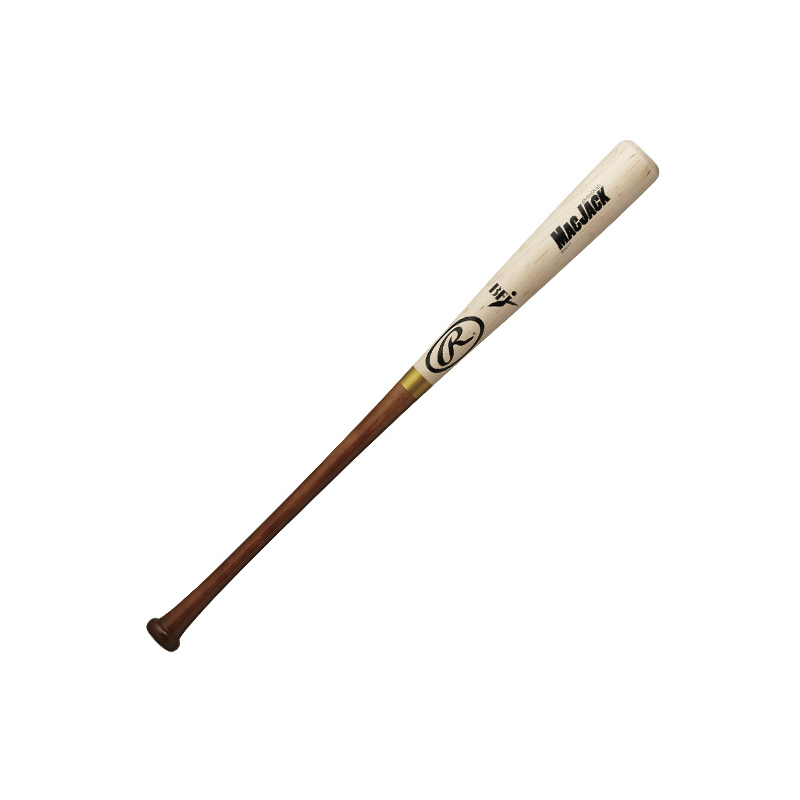 【Rawlings】ローリングス 硬式木製バット マックジャック メイプルUSA bhw8mbl-natbr