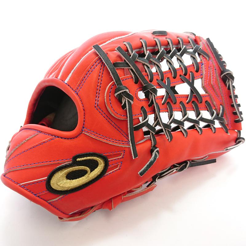 【asics】アシックス 野球館オリジナル 硬式グローブ ゴールドステージ外野手用 オーダーグラブ asics-38