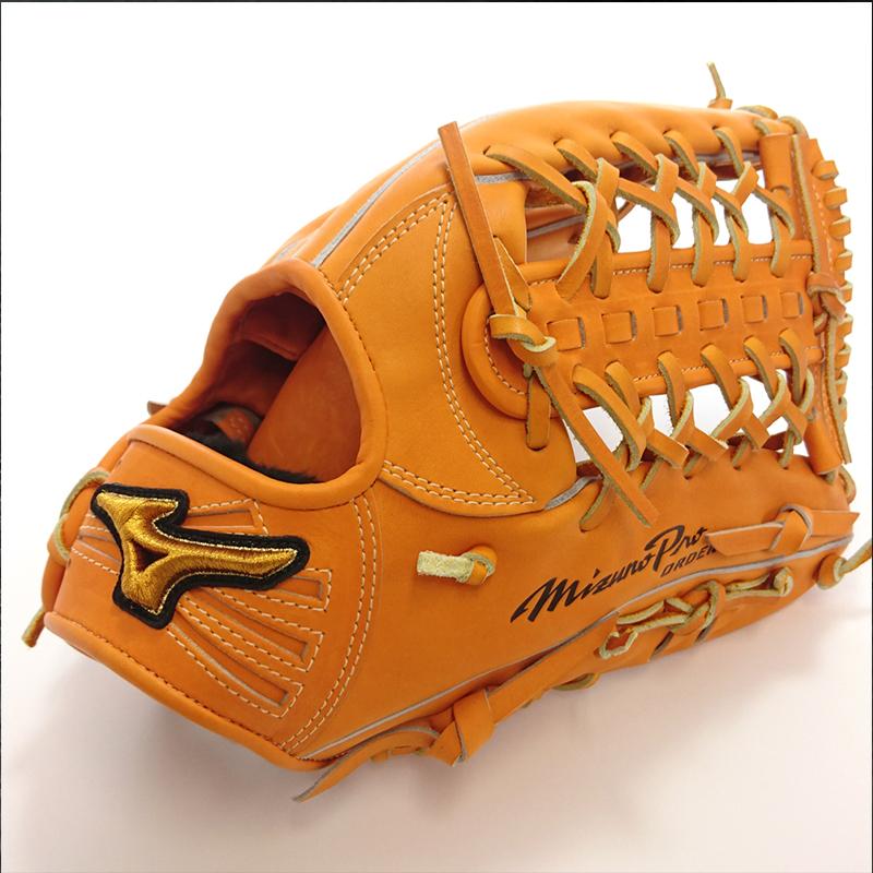 【MIZUNO】ミズノ 野球館オリジナル 硬式グローブ ミズノプロ 外野手用 オーダーグラブ mp-51