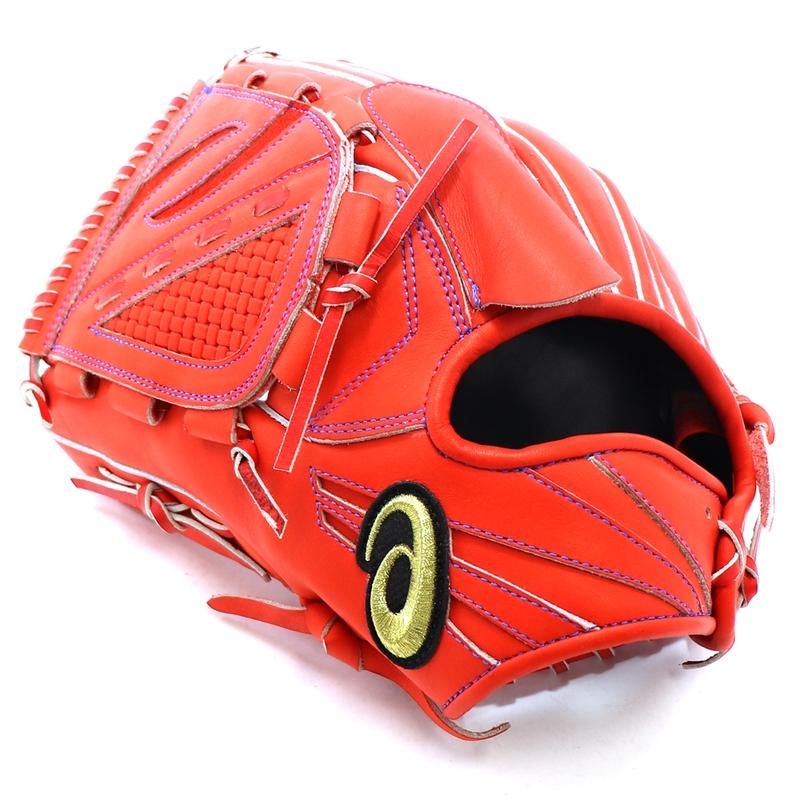 【asics】アシックス 野球館オリジナル 硬式グローブ ゴールドステージ投手用 オーダーグラブ asics-118
