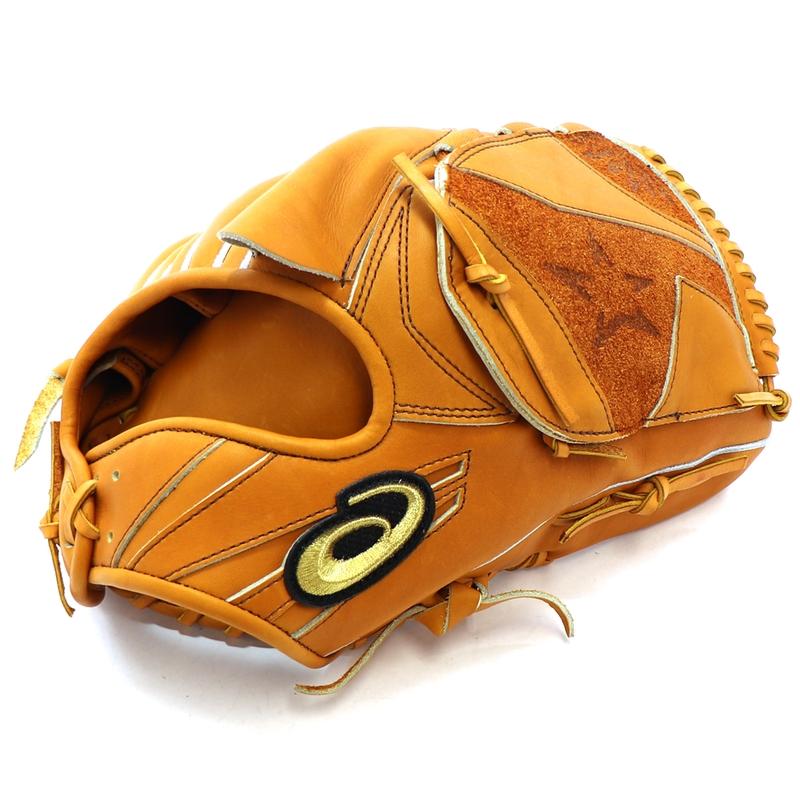 【asics】アシックス 野球館オリジナル 硬式グローブ ゴールドステージ投手用 オーダーグラブ asics-134