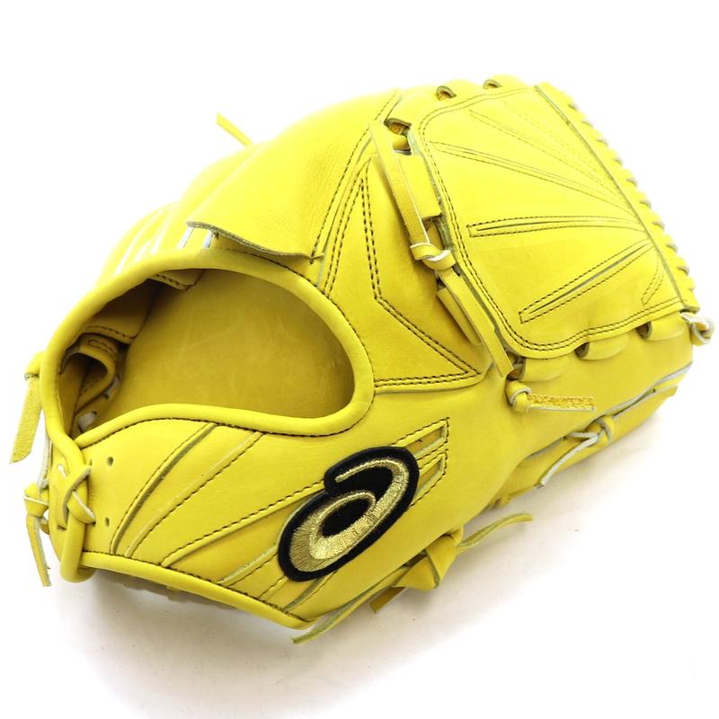 【asics】アシックス 野球館オリジナル 硬式グローブ ゴールドステージ投手用 オーダーグラブ asics-167