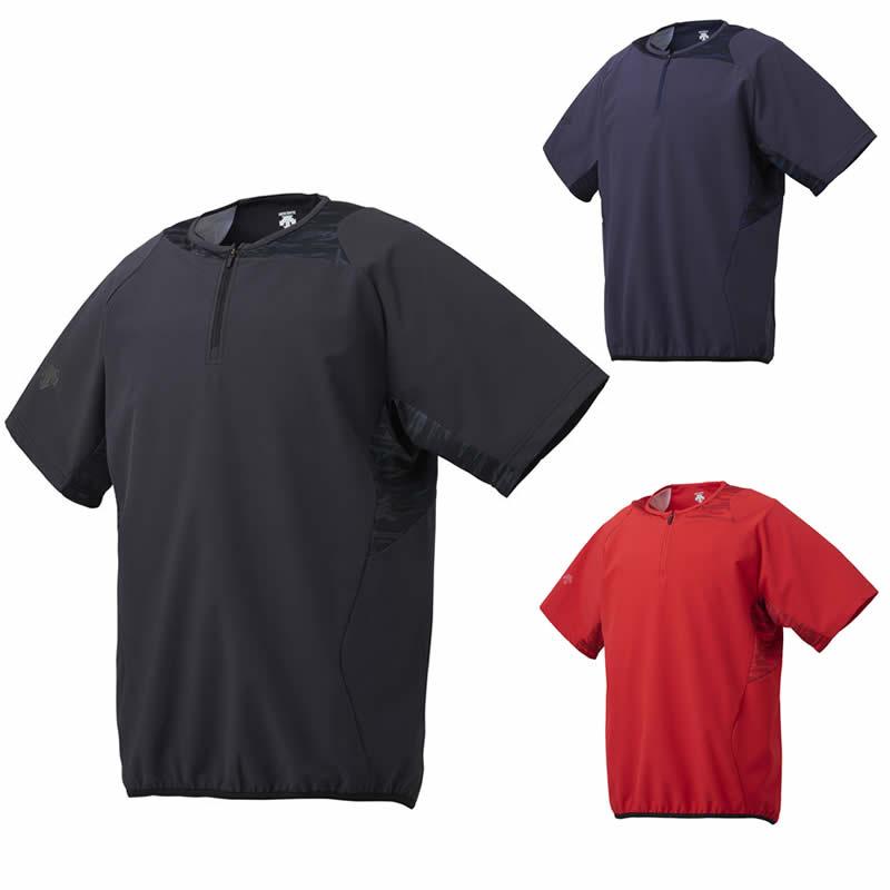 広島東洋カープモデル 人気海外一番 DESCENTE ハイクオリティ デサント ハイブリッドシャツ dbx3607 半袖