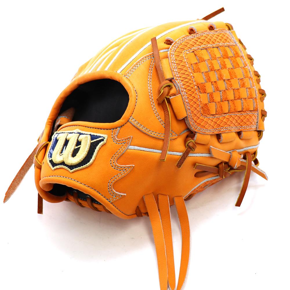 【wilson】ウィルソン 野球館オリジナル 硬式グローブ ウィルソン内野手用 オーダーグラブ wilson-42