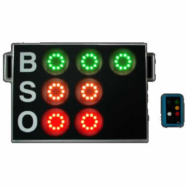★【LINK】リンク 小型無線BSOカウント表示器 cdz-280b【コンビニ受け取り不可】