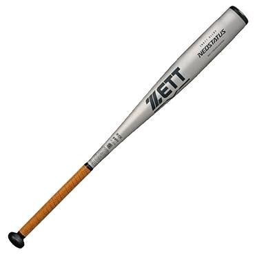【ZETT】ゼット 硬式用金属バット ネオステイタス シルバー bat11783【コンビニ受け取り不可】