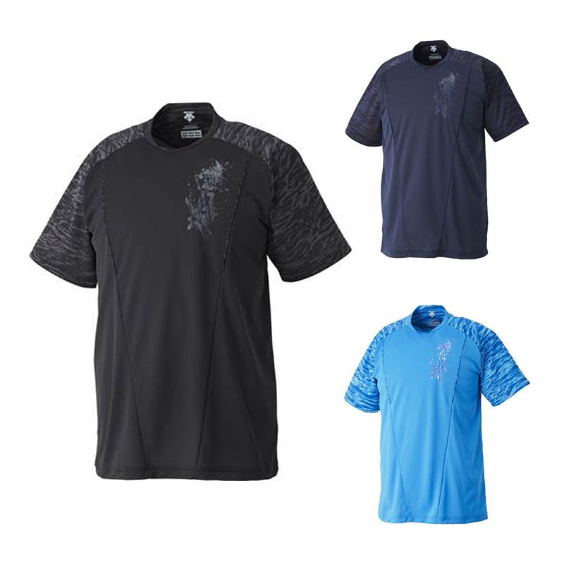 ベースボールウェアを進化させる DESCENTE デサント ベースボールシャツ dbx-5700a XGN メール便対応商品 日本メーカー新品 期間限定特価品