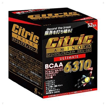 シトリックアミノ アルティメイトエボリューション52包入り 5286