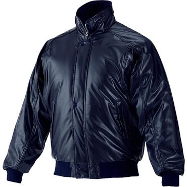 ★ 【asics】アシックス グランドコート 中綿入り ニューレイドレザー素材 ネイビー×ネイビー bag001-5050
