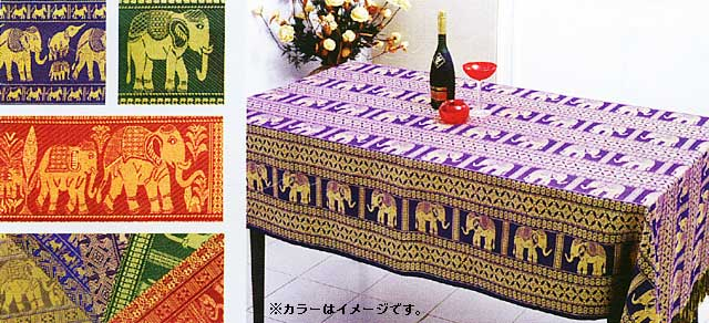 Asian print tablecloths