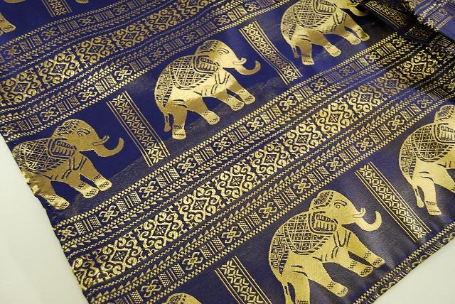 亚洲模式 taiteki 风格亚洲表布 (蓝色模式完全和大象)