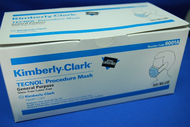 kimberly-clark surgical mask
