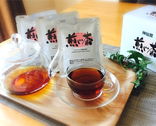 『神仙茸 煎じ茶』
