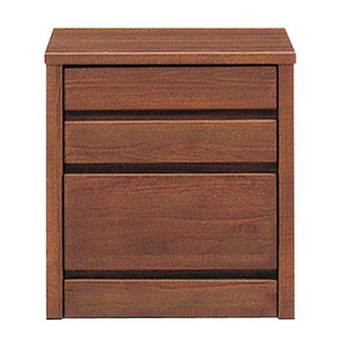 ミニチェスト スリムチェスト 幅45cm 3段 リビングチェスト 北欧家具 完成品 ローチェスト アルダー無垢 木製