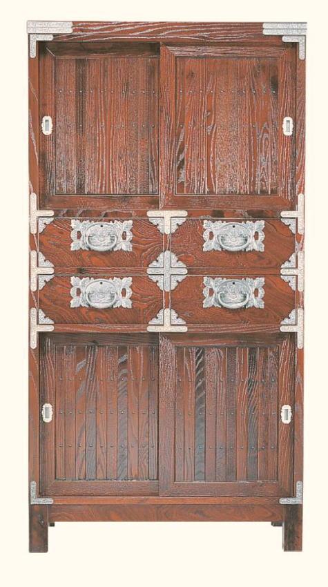 民芸箪笥 和たんす 和風 宝箪笥框造り 84cm水屋箪笥 筑後民芸