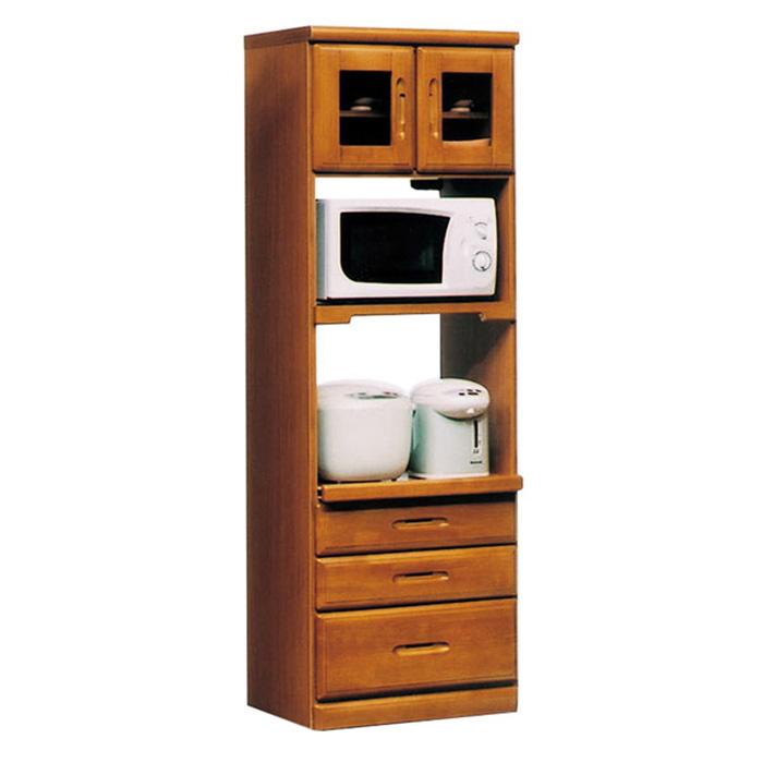 レンジボード レンジ台 食器棚 完成品 幅60cm キッチン収納 スリム モダン 国産 ハイタイプ 高さ180cm コンセント付き