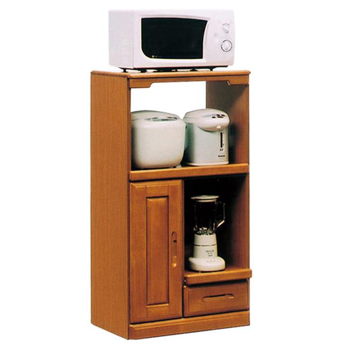 レンジ台 レンジボード 完成品 幅60cm スリム 家電収納 電子レンジ台 小型 食器棚 木製