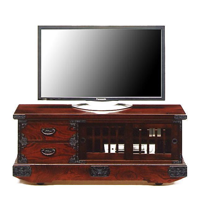 吉野民芸 120cm テレビボード引戸車箪笥