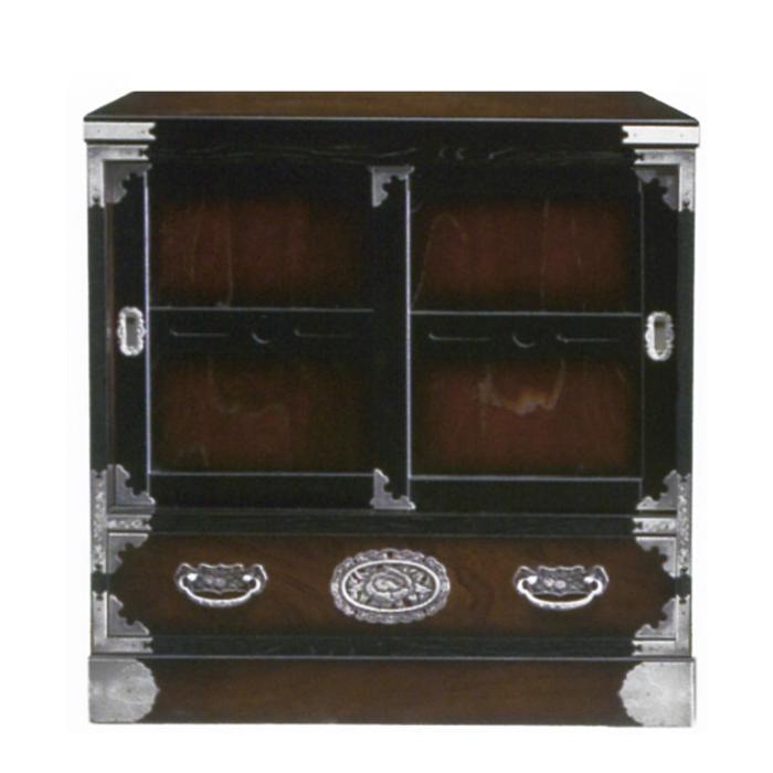 民芸箪笥 和たんす 和風 飾棚 70cm 茶棚 三丸民芸