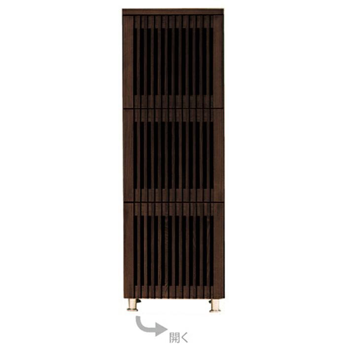 キャビネット リビングボード 和風 完成品 幅45cm 3段
