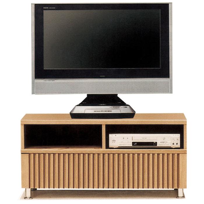 テレビ台 ローボード 幅100cm 完成品 テレビボード TV台 タモ無垢 木製 リビング収納 リビングボード 和風モダン 日本製