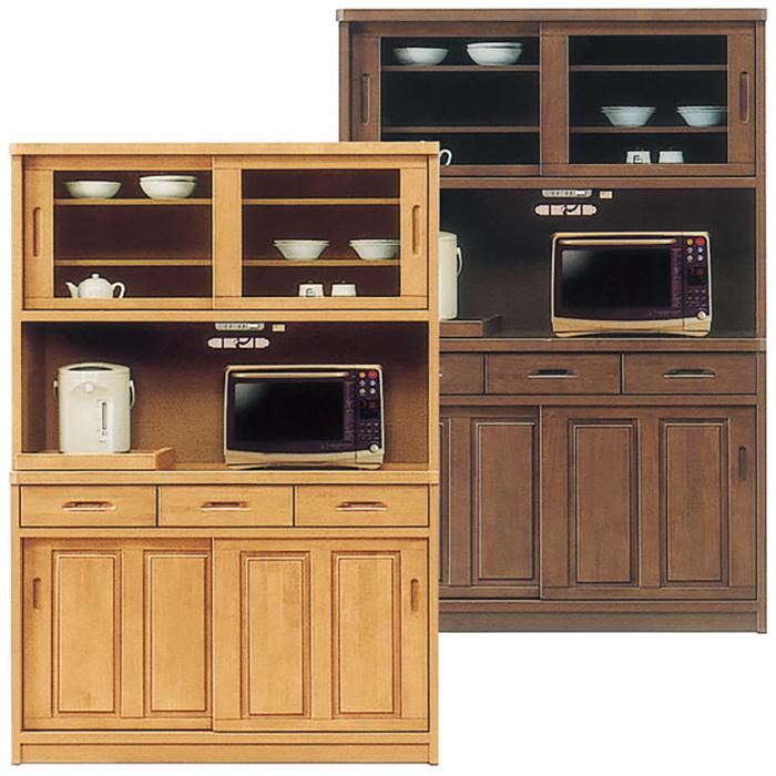 食器棚 レンジボード 完成品 和 和風 幅120cm