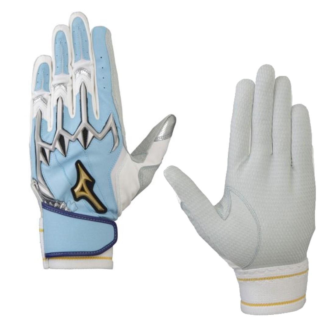 ミズノプロバッティング手袋シリコンパワーアークLI1EJEA80521父の日カラー 期間限定送料無料 ネコポス 即納最大半額