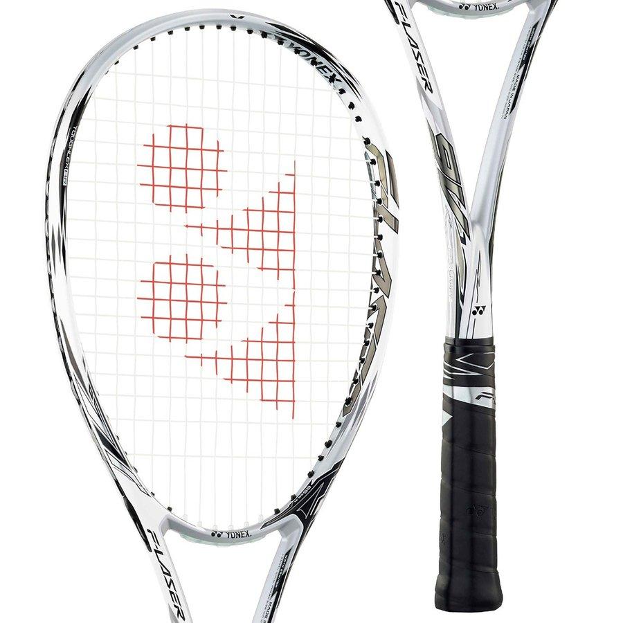 YONEX ヨネックス ソフトテニスラケット F-LASER 9V 前衛タイプ FLR9V 719:プラウドホワイト エフレーザー9V おトク おすすめ特集