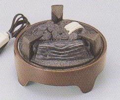 茶道具遠赤外線 炭型 電熱器炉用 電気炭YU-021-3P強弱切替スイッチ付