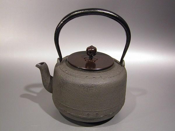 茶道具鉄瓶 万代屋(もずや)