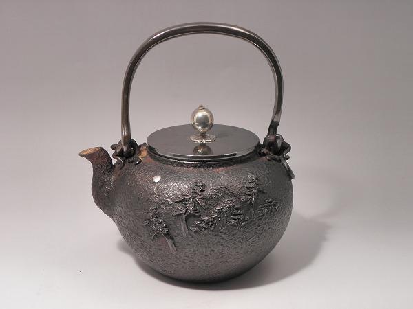 茶器・茶道具鉄瓶 葛屋(くずや)喜多 庄兵衛作