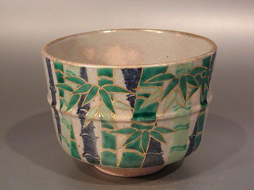 茶碗 乾山 竹取の翁、寺尾陶象作