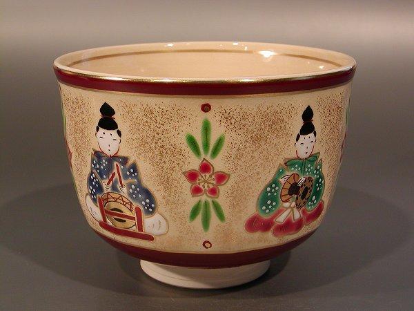 茶碗茶碗 五人囃子、加藤松香作, カンナマチ:700f9b0d --- sunward.msk.ru