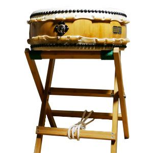 平胴太鼓 1尺3寸 台付 竹の鼓 【平太鼓 たいこ タイコ 太鼓】
