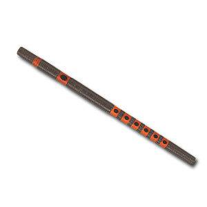 神楽笛(かぐらぶえ) 煤竹・籐巻 ※漆を使用しております 【雅楽器 雅楽用品 横笛】