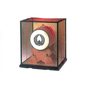 飾り太鼓専用ガラスケース 4.5寸~6寸用